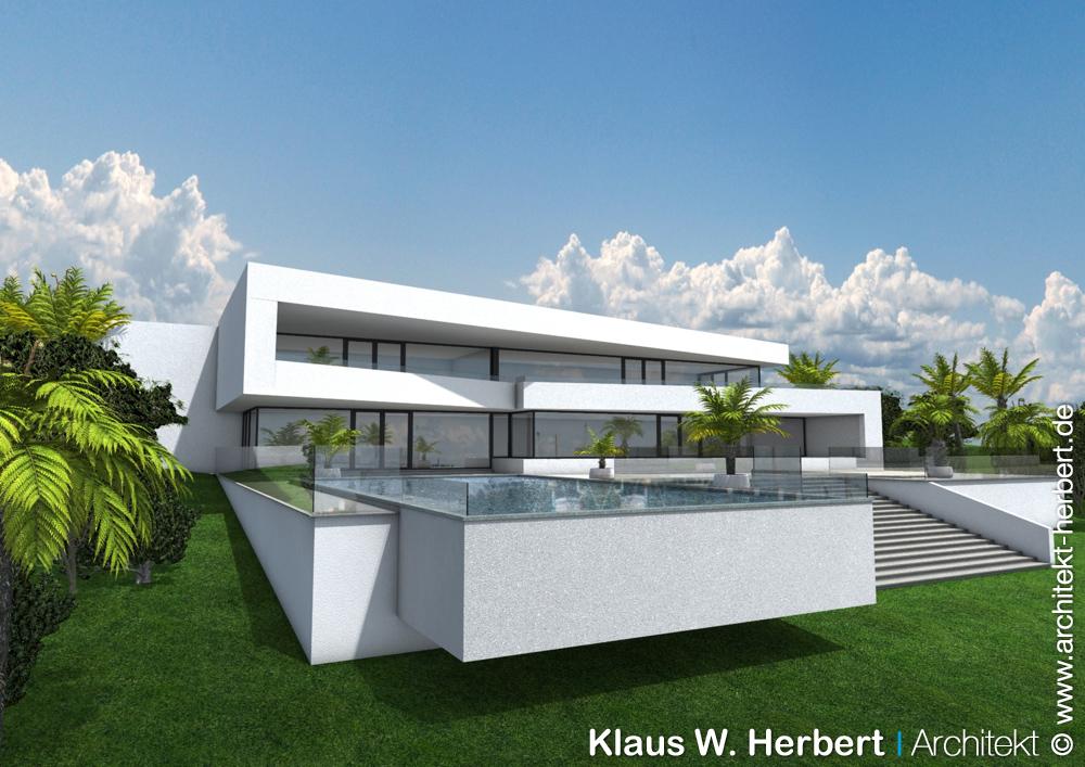 Klaus w herbert architekt der architekt in mallorca for Bauhaus aschaffenburg
